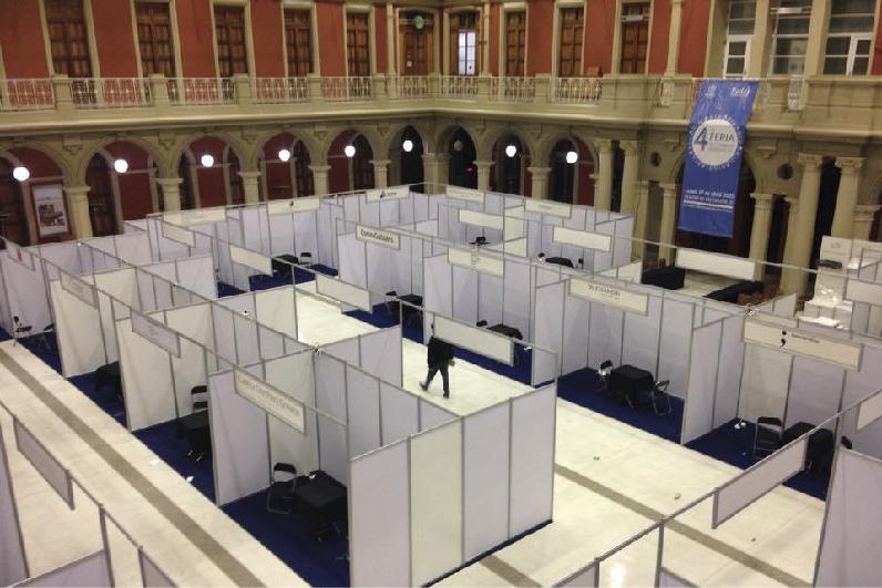 stand modular, diseño y construcción de stand en Vigo Galicia