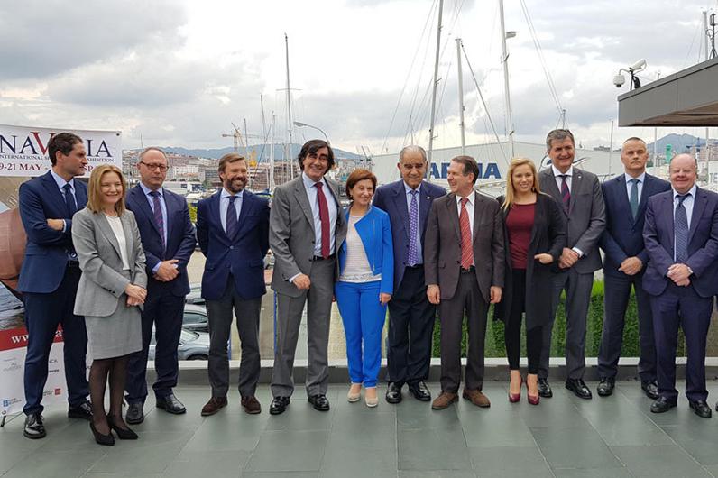 navalia 2020 construcción de stand en Vigo Galicia