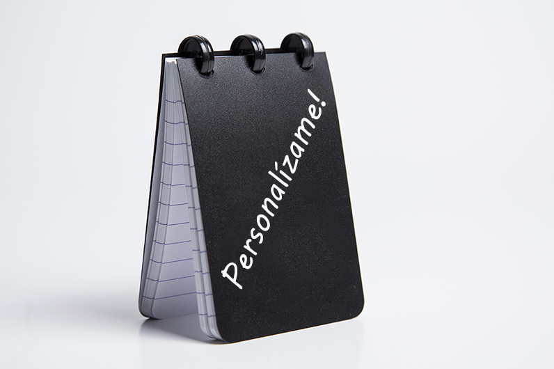 agenda merchandising personalizable vigo Galicia